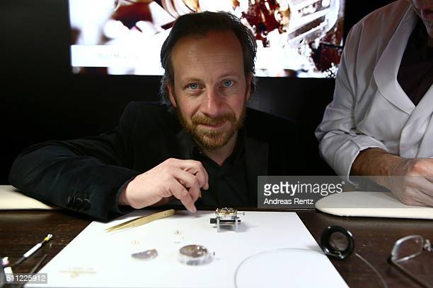 Fabian Busch during the Michael Ballhaus Hommage reception at the Glashuette Original lounge on February 18, 2016 in Berlin, Germany.