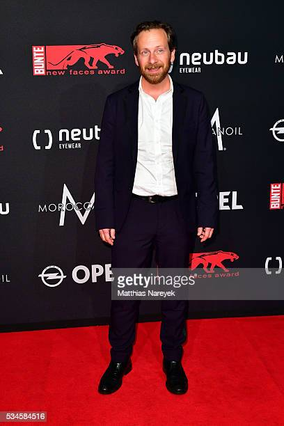 Fabian Busch during the New Faces Award Film 2015 at ewerk on May 26 2016 in Berlin Germany