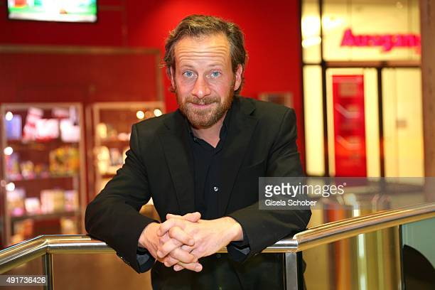 Fabian Busch during the special screening of the film 'Er ist wieder da' at Mathaeser Filmpalast on October 7, 2015 in Munich, Germany.
