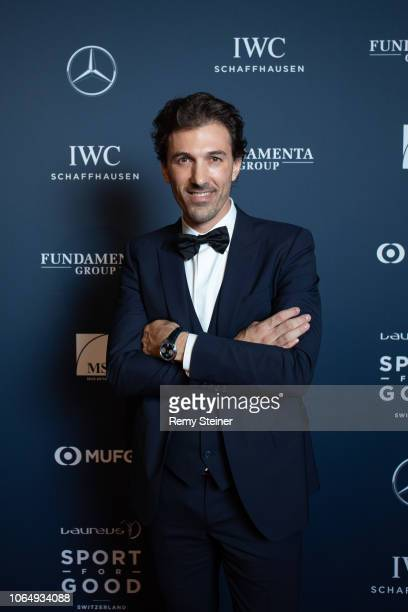 Fabian Cancellara attends the 12th Laureus Charity Night at Hangar Duebendorf near Zurich, Switzerland.
