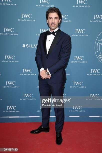 Fabian Cancellara walks the red carpet for IWC Schaffhausen at SIHH 2019 on January 15, 2019 in Geneva, Switzerland.