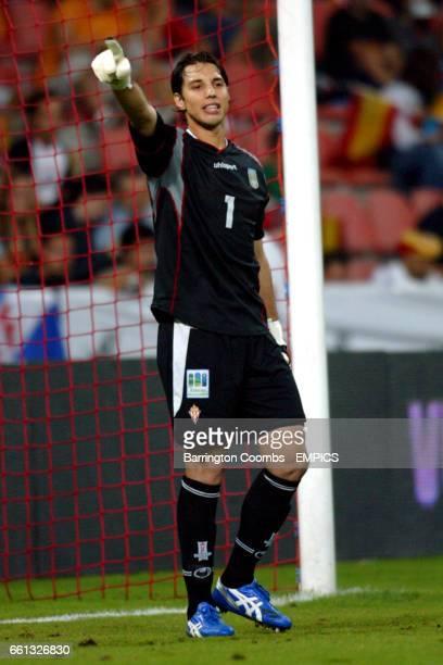 Fabian Carini Uruguay goalkeeper