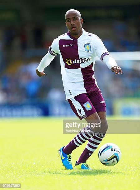 Fabian Delph of Aston Villa