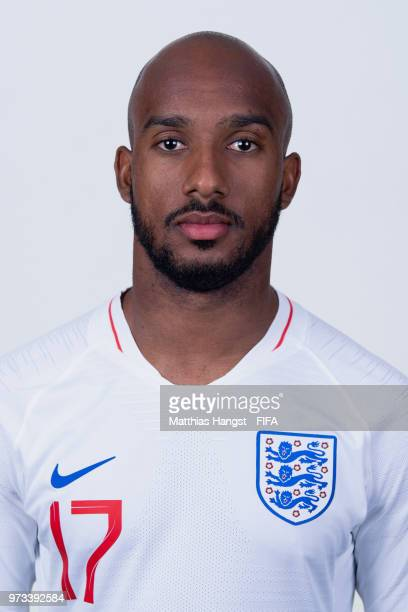 Fabian Delph of England poses for a portrait during the official FIFA World Cup 2018 portrait session at on June 13 2018 in Saint Petersburg Russia