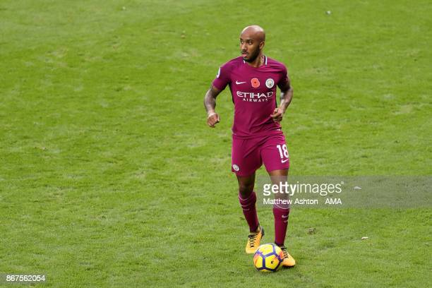Fabian Delph of Manchester City during the Premier League match between West Bromwich Albion and Manchester City at The Hawthorns on October 28 2017...