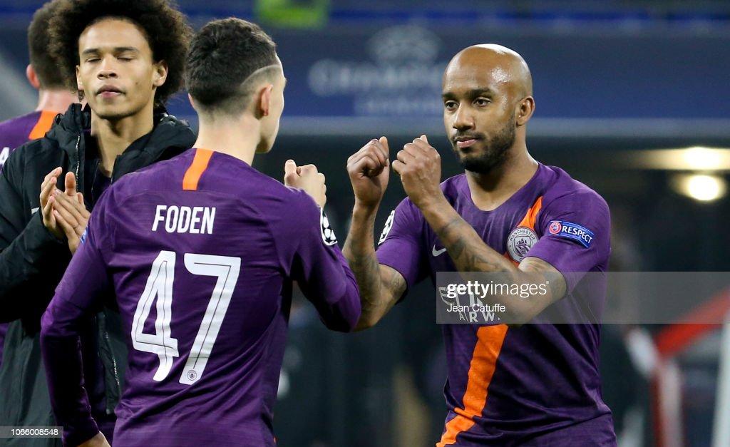 Olympique Lyonnais v Manchester City - UEFA Champions League : News Photo