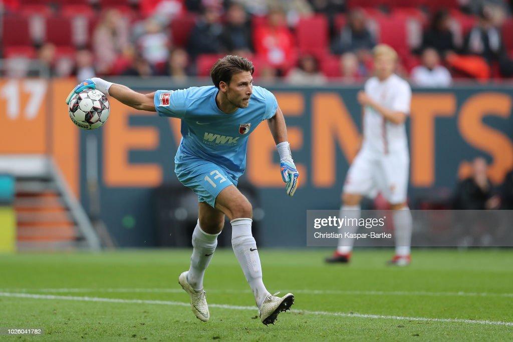 FC Augsburg v Borussia Moenchengladbach - Bundesliga : News Photo