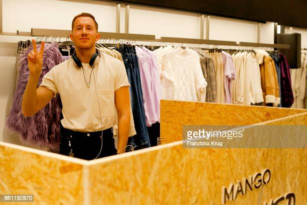 Fabian Hart attends the Mango Committed Collection PreLaunch at Mango Store on October 12 2017 in Hamburg Germany