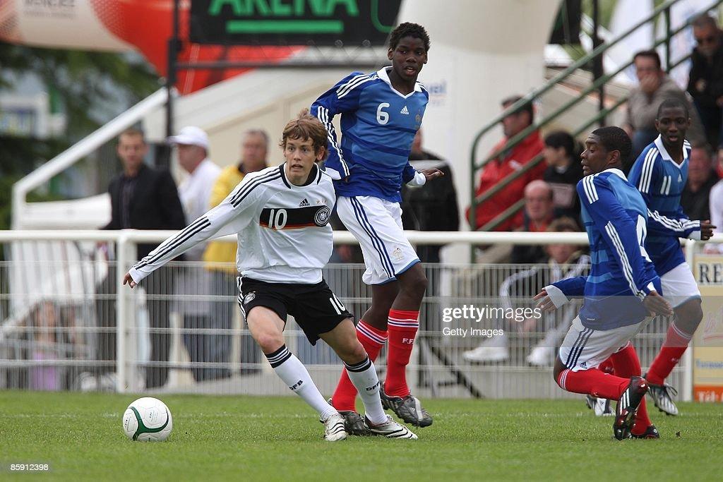 U16 France v U16 Germany - International Friendly