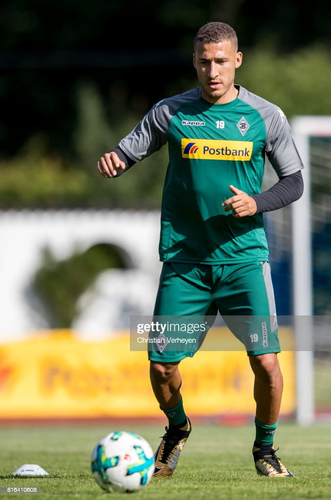 Fabian Johnson of Borussia Moenchengladbach during a training session at the Training Camp of Borussia Moenchengladbach on July 17, 2017 in Rottach-Egern, Germany.