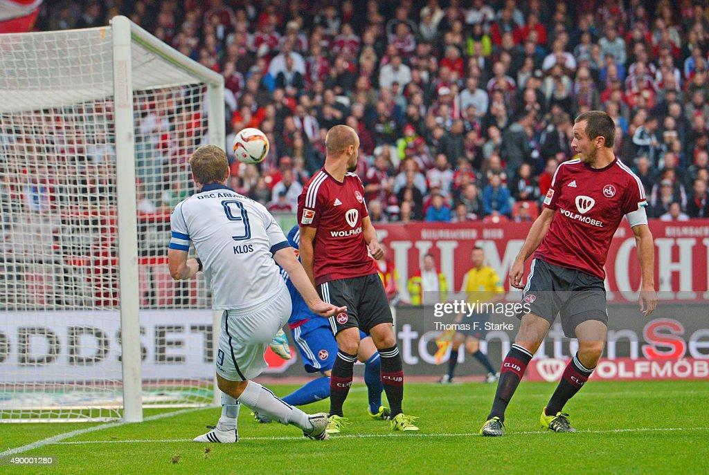 1. FC Nuernberg v Arminia Bielefeld - 2. Bundesliga