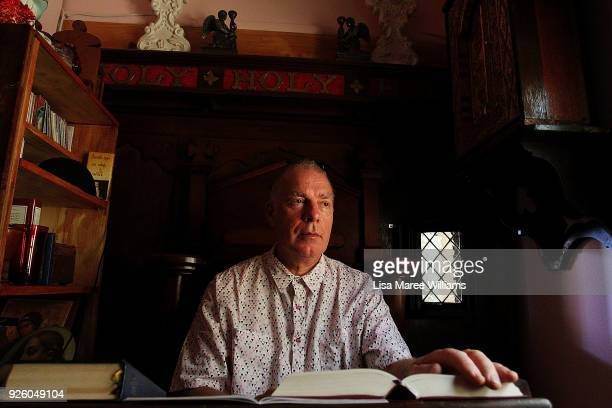 Fabian LoSchiavo a Mardi Gras 78er sits in his prayer room at home on March 1, 2018 in Sydney, Australia. Fabian LoSchiavo also known as 'Mother...