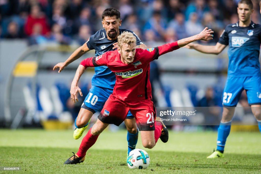 TSG 1899 Hoffenheim v Hertha BSC - Bundesliga : Nachrichtenfoto