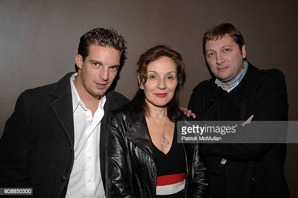 Fabian Moreau Maripol and Sab attend WENDI MURDOCH Hosts a Screening of THINKFILM's NANKING at Tribeca Grand on October 29 2007 in New York City