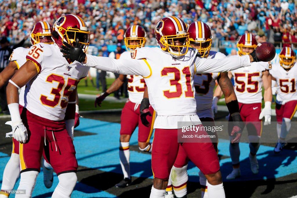 Washington Redskins vCarolina Panthers : ニュース写真