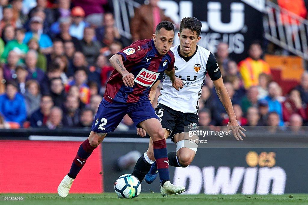 Valencia v Eibar - La Liga : News Photo