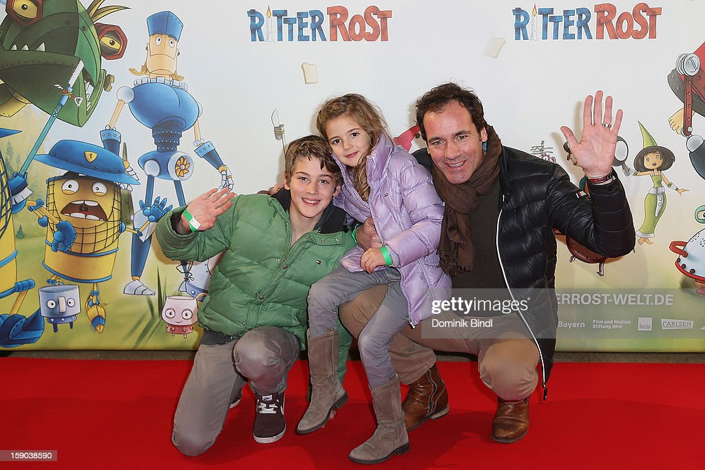 Fabian Pauline And Thomas Ohrner Attend The Ritter Rost Premiere On