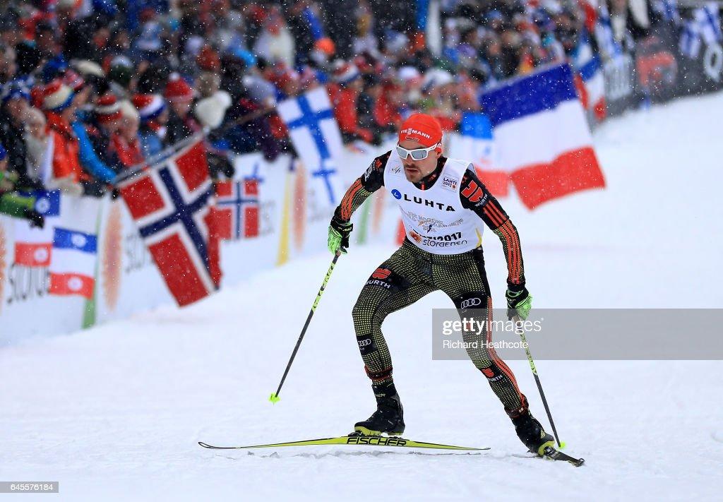 Men's Nordic Combined Team HS100 - FIS Nordic World Ski Championships : News Photo