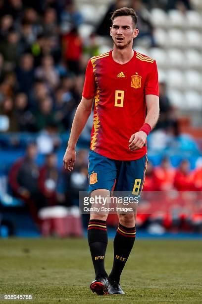 Fabian Ruiz of Spain U21 in action during the 2019 UEFA Under 21 qualification match between Spain U21 and Estonia U21 at Toralin Stadium on March 27...