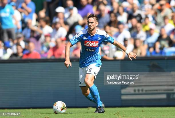 Fabian Ruiz of SSC NAPOLI during the Serie A match between SSC Napoli and Brescia Calcio at Stadio San Paolo on September 29 2019 in Naples Italy
