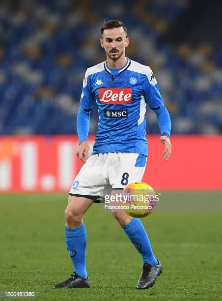 Fabian Ruiz of SSC Napoli during the Serie A match between SSC Napoli and ACF Fiorentina at Stadio San Paolo on January 18 2020 in Naples Italy