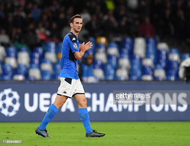 Fabian Ruiz of SSC Napoli during the UEFA Champions League group E match between SSC Napoli and RB Salzburg at Stadio San Paolo on November 05 2019...