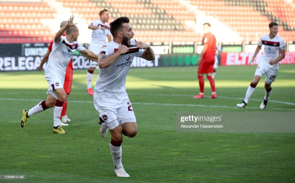 FC Ingolstadt v 1. FC Nürnberg - 2. Bundesliga Playoff Leg Two : ニュース写真