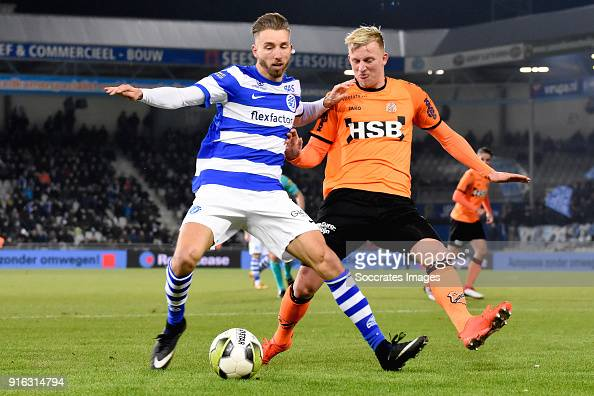 Fabian Serrarens Of De Graafschap, Daan Klinkenberg Of FC