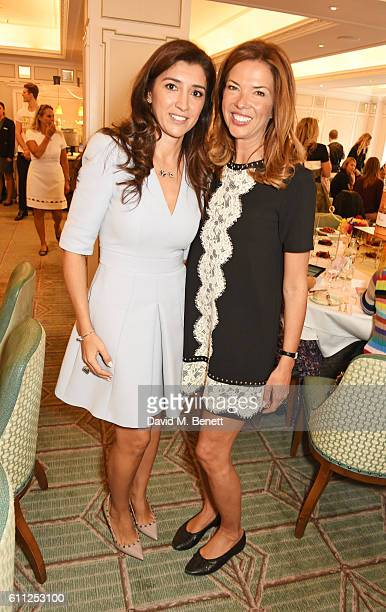 Fabiana Flosi and Heather Kerzner attend the 3rd Annual Ladies' Lunch in support of the Silent No More Gynaecological Cancer Fund at Fortnum Mason on...