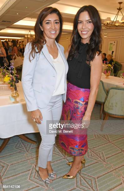 Fabiana Flosi and Josephine Daniel attend the 4th annual Ladies' Lunch in support of the Silent No More Gynaecological Cancer Fund at Fortnum Mason...