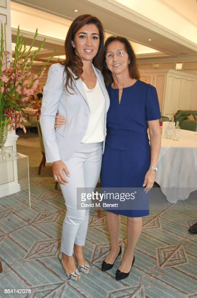Fabiana Flosi and mother Aparecida Schunck attend the 4th annual Ladies' Lunch in support of the Silent No More Gynaecological Cancer Fund at Fortnum...