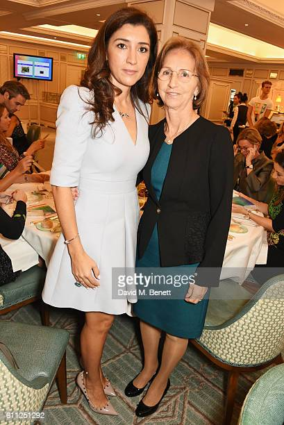 Fabiana Flosi and mother Aparecida Schunk attend the 3rd Annual Ladies' Lunch in support of the Silent No More Gynaecological Cancer Fund at Fortnum...