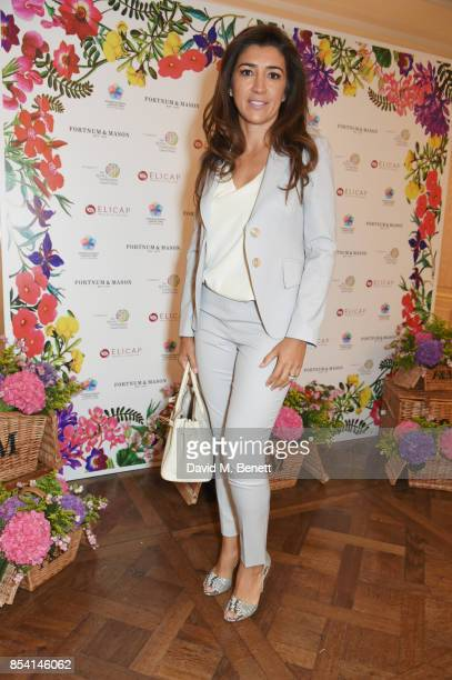 Fabiana Flosi attends the 4th annual Ladies' Lunch in support of the Silent No More Gynaecological Cancer Fund at Fortnum Mason on September 26 2017...