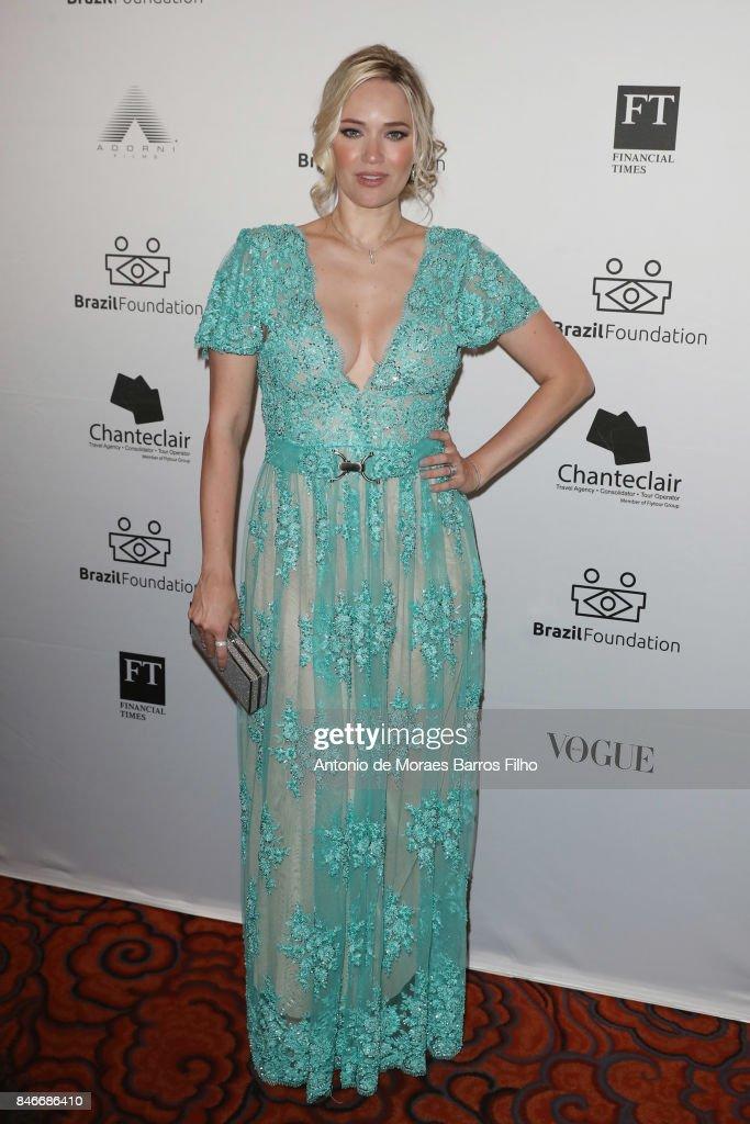 Fabiana Saba attends the 2017 Brazil Foundation Gala on September 13, 2017 in New York City.