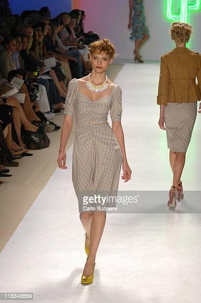 Fabiana Semprebom wearing Nanette Lepore Spring 2006