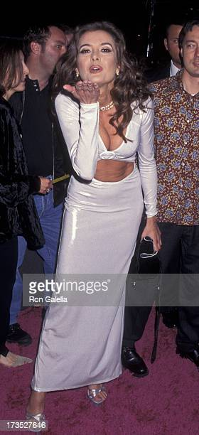 Fabiana Udenio attends the world premiere of Austin Powers on April 28 1997 at Mann Chinese Theater in Hollywood California