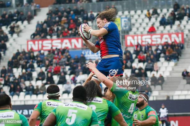 Fabien ALEXANDRE of Grenoble during the Pro D2 match between FC Grenoble Rugby and US Montauban on November 17, 2019 in Grenoble, France.