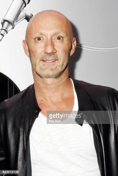 Fabien Barthez attends the HYT Watches Launch Party at VIP Room Theater on September 7 2017 in Paris France