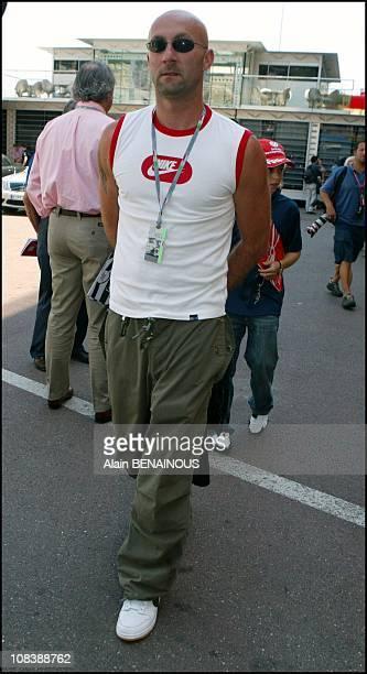 Fabien Barthez in Monaco on May 31 2003