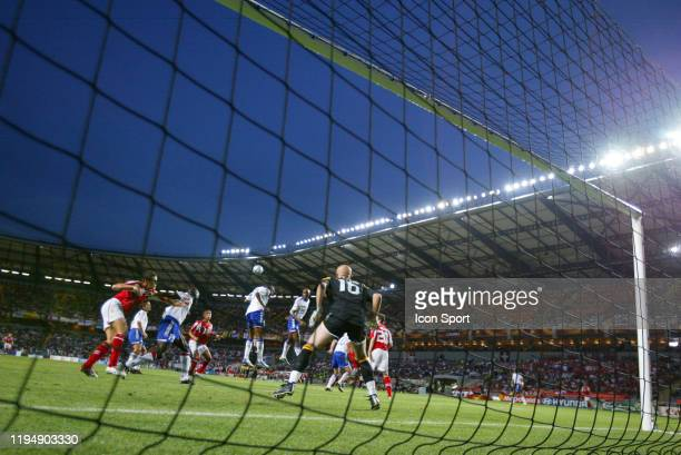 Fabien BARTHEZ of France during the European Championship Pool B match between Switzerland and France at Estadio Cidade de Coimbra, Coimbra, in...