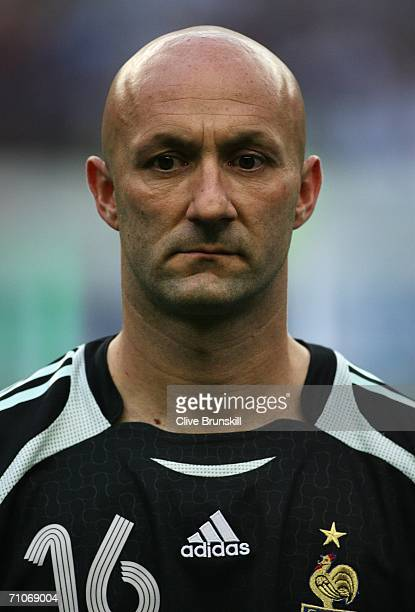 dec758a4b47 Fabien Barthez of France looks on during the international friendly match  between France and Mexico at