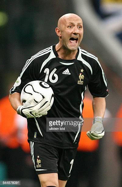 Fabien Barthez Sportler Fußball Torhüter Frankreich FIFA WM 2006