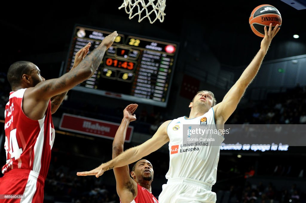 Real Madrid v AX Armani Exchange Olimpia Milan - Turkish Airlines EuroLeague