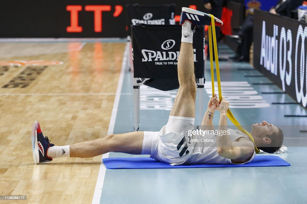 ESP: Real Madrid v Panathinaiskos Opap Athens - EuroLeague Play Offs