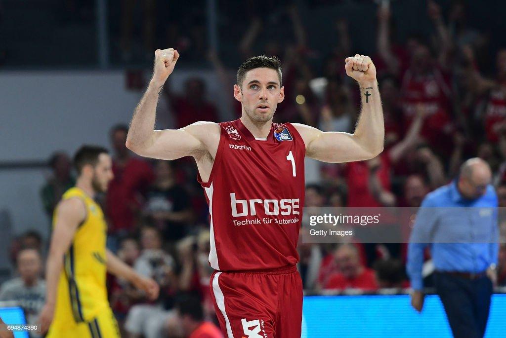 Brose Baskets v EWE Baskets Oldenburg - BBL Finals Game 3