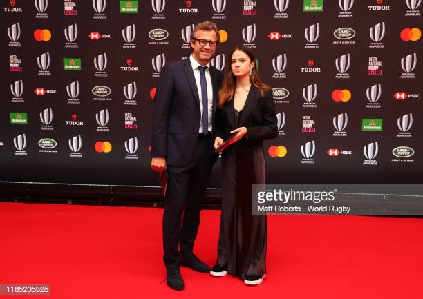 Fabien Galthié Former France Captain poses for a photo during the World Rugby Awards on November 03 2019 in Tokyo Japan