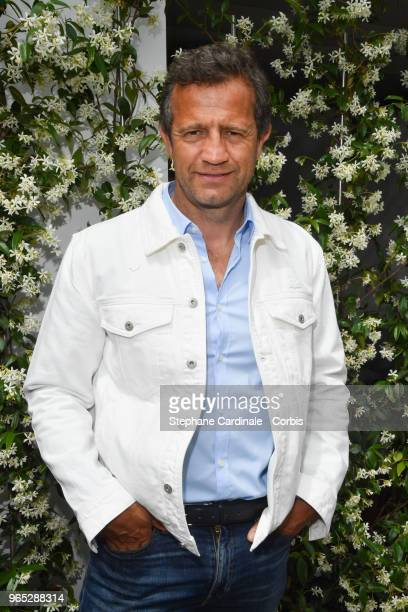 Fabien Galthie attends the 2018 French Open Day Six at Roland Garros on June 1 2018 in Paris France