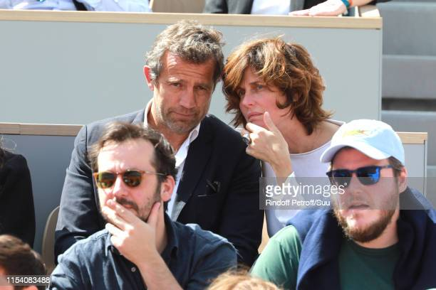 Fabien Galthie attends the 2019 French Tennis Open Day Twelve at Roland Garros on June 06 2019 in Paris France