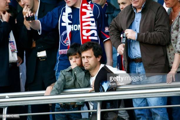 Fabien GALTHIE et son fils PSG / Nantes 33eme journee de Ligue 1