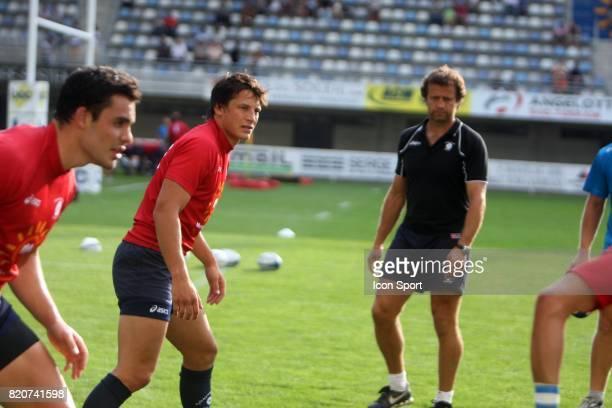 Fabien GALTHIE / Francois TRINH DUC Montpellier / Racing Metro 92 2eme journee de Top 14 Stade Yves du Manoir Montpellier